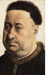 Portrait of a Robust Man, by Robert Campin