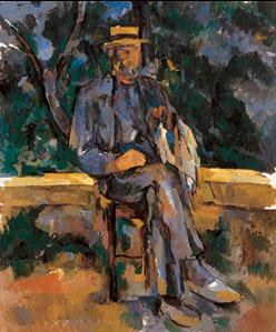 Portrait of a Farmer, by Cezanne