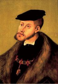 Emperor Charles V, by Lucas Cranach