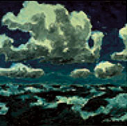 Summer Clouds, by Emile Nolde
