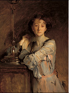Mrs. Charles Russell, by John Singer Sargent