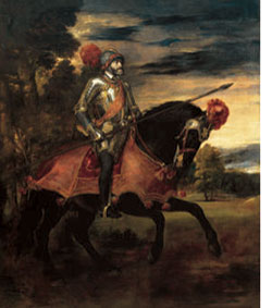 Charles V, by Titian