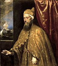 Portrait of Doge Francesco Venier, by Titian