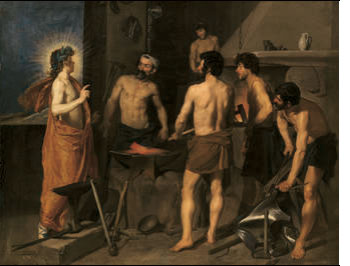 Vulcan's Forge, by Diego Velazquez