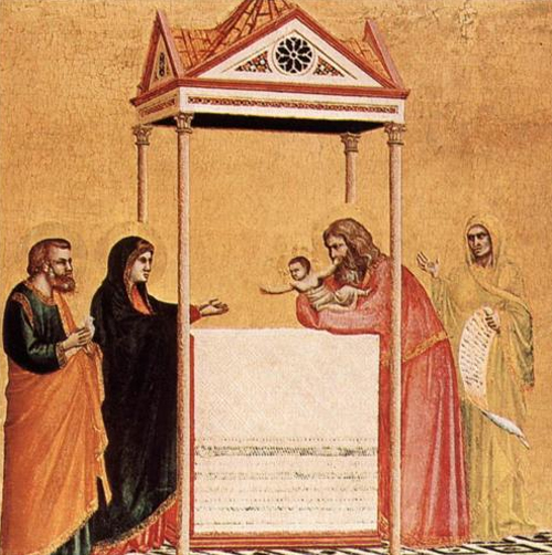 The Presentation of the Infant Jesus in the Temple