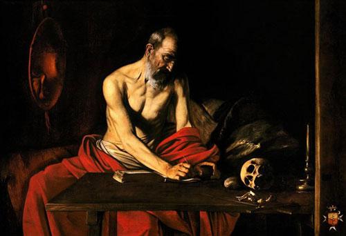 St. Jerome Writing, Malta